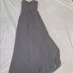 David's Bridal Dresses - WOMENS STRAPLESS BRIDESMAID DRESS